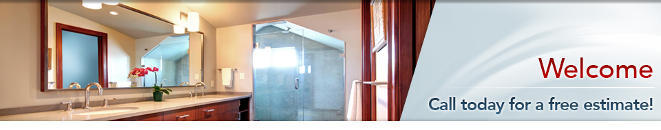 Bathroom Mirror and Shower Glass